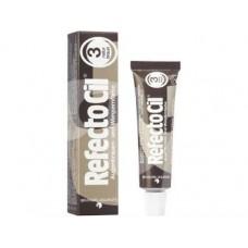 Краска для бровей и ресниц № 3 RefectoCil коричневая, 15 мл