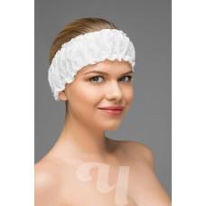 Фиксатор для волос с двумя резинками спанбонд (10 шт/уп)