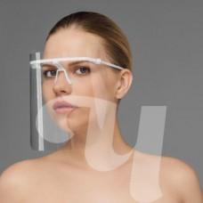 Маска пластмассовая д/защиты лица, 1шт