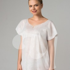 """Рубашка без рукавов белая """"ХL"""" спанлейс (25 шт/уп)"""