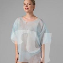"Рубашка с рукавами голубая ""ХL"" SMS (5 шт/уп)"
