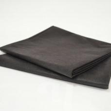 Простынь ЛЮКС черная 200х90 см спанбонд (10 шт/уп)