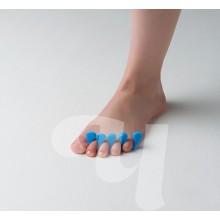 Разделители для пальцев голубые (20 пар/уп)