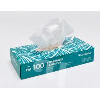 Салфетки бумажные двуслойные вытяжные     80 шт/уп