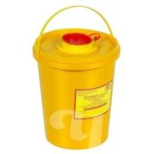 Контейнер д/сбора острого инструмента класса Б  МК-01 желтый  (3 л)